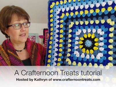 Tutorial: How to make simple crochet handles for the Marie fat bottomed bag