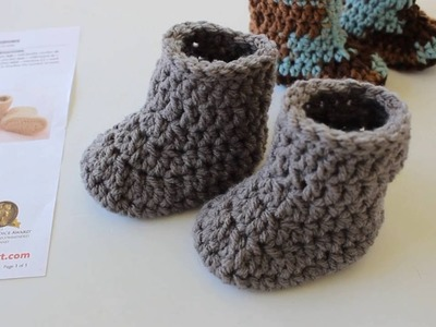 Warm Crochet Baby Boots