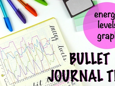 Bullet Journal - How to track your energy