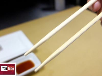 Chopsticks 101 - How To Master Using Them