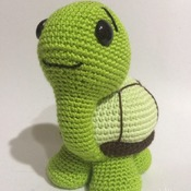 Crochet Pattern  Cute Turtle Amigurumi Pdf