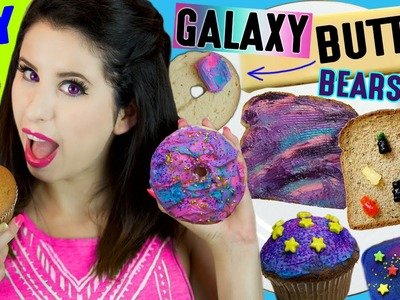 DIY GALAXY Butter | Butter Gummy Bears | How To Make GALAXY Cream Cheese And Butter Bar!