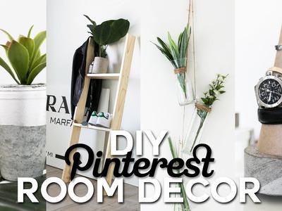 DIY Pinterest Inspired Room Decor - Minimal & Simple | Imdrewscott