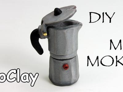 Dollhouse Accessories - How to make a coffee Moka pot