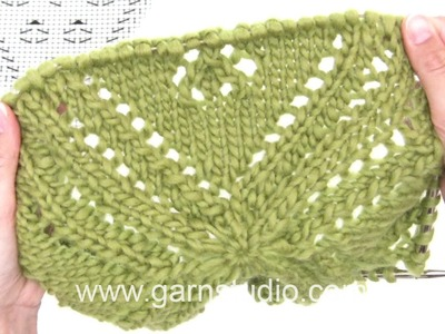 DROPS Knitting Tutorial: How to work chart A.1 for the bolero in 170-5