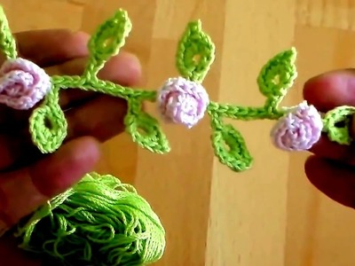 How To Crochet a Beginner Easy Flower | How To Make Flower in Crochet At Home