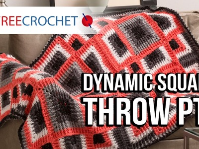 How to Crochet a Blanket: Dynamic Squares Throw, Pt. 3