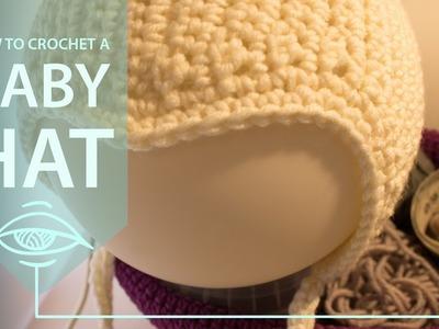 How to crochet a scandinavian baby hat   second method