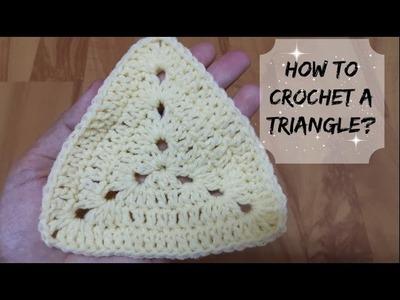How to crochet a triangle? | !Crochet!