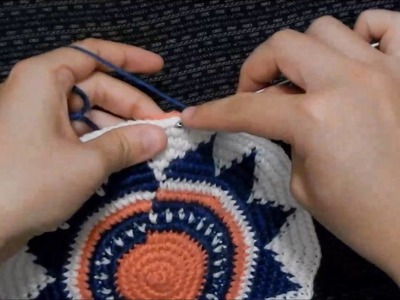 How to Crochet a Wayuu-Style Base - Part 3