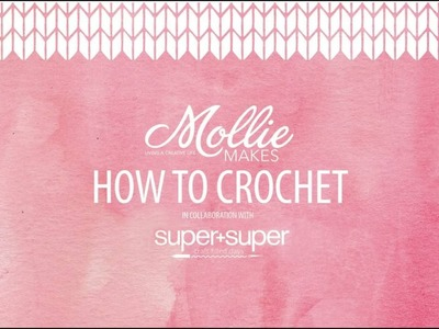 How to crochet: How to hold crochet hook and yarn [Day 1 of 12]