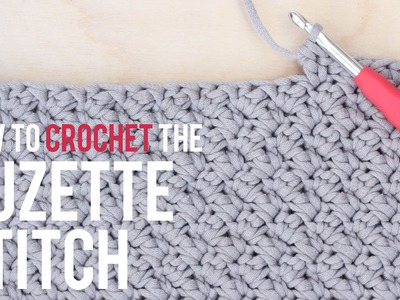 How To Crochet the Suzette Stitch: Beginner Friendly Tutorial