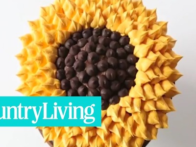How To Decorate a Sunflower Cake