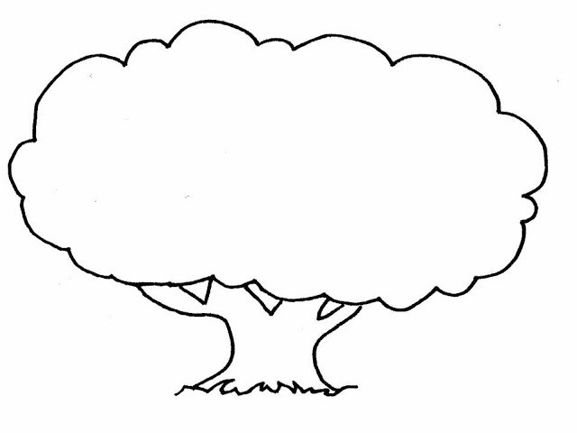 How to draw a tree in easy steps
