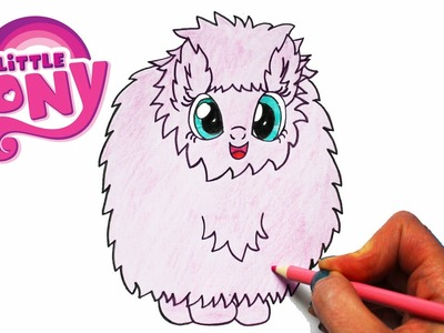 How to Draw My Little Pony FLUFFLE PUFF Character Step By Step Easy MLP | Toy Caboodle