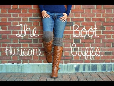 How To Knit - The Hurricane Boot Cuffs Tutorial