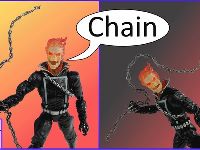 How to Make a Chain Weapon for Marvel Legends Ghost Rider