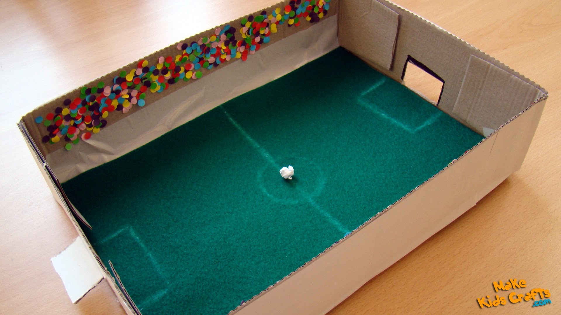How to make a Football Game? DIY