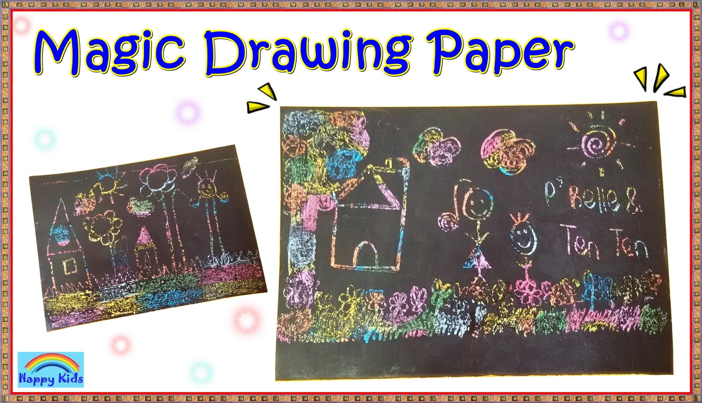 How to make a Magic Drawing Paper