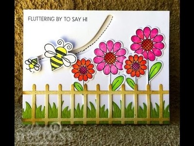 How to Make an Interactive Scene Card by Cindy B Designs