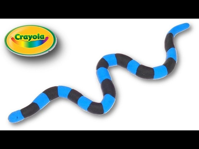 How to make Banded Sea Snake from Crayola
