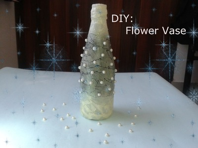 How To Make Best Out Of Waste Flower Vase. DIY