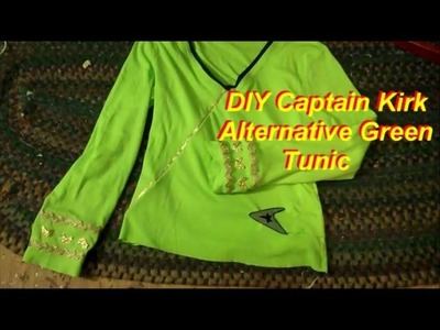 How to Make Captain Kirk's Casual Green Tunic