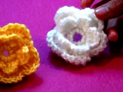 How To Make Easy Flower In Crochet At Home | How To Crochet a Flower