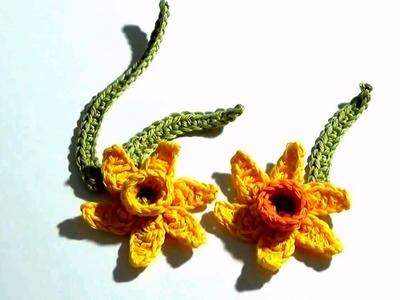 How To Make Flower in Crochet Simple | Flower In Crochet | How To Crochet A Simple