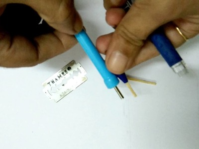 How to make free quilling tool at home