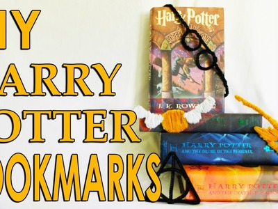 How To Make Harry Potter Bookmarks!