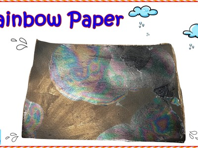 How  to make Rainbow Paper