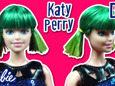 Katy Perry Hair Tutorial for Barbie Doll - How to Make Barbie Hairstyle - Making Kids Toys