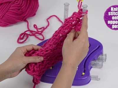 Knits Cool S16 Arm Warmer How To