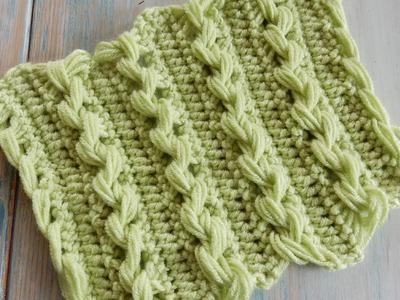 Loop Stitch Braid - How to Crochet (Fiddly!)