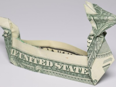 Dollar Origami: Dragonboat | 1 Dollar | Easy tutorials and how to's for everyone #Urbanskills