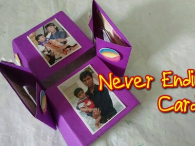 Easy Never Ending Card | Endless Card Making Idea [How to] Craftlas