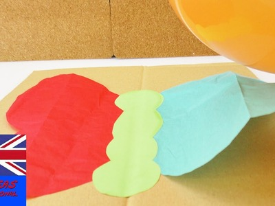 EXPERIMENT! How to make a butterfly fly with a balloon?!