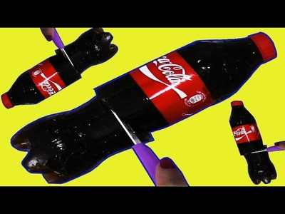 Gummy coca cola diy giant gummy cola bottle botella gigante de gominola como hacer crafts diy