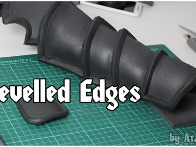 How To: Bevelled Foam Edges