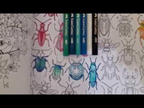 How to Color Secret Garden Coloring Book for Adults | Bugs