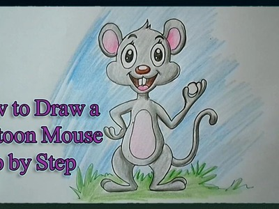 How to Draw a Cartoon Mouse Step by Step for Kids
