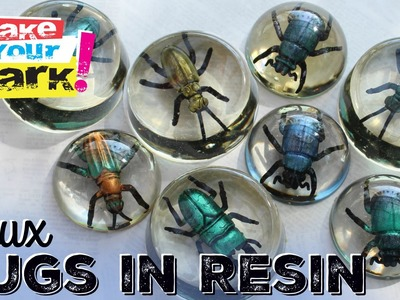 How to: Faux Bugs In Resin