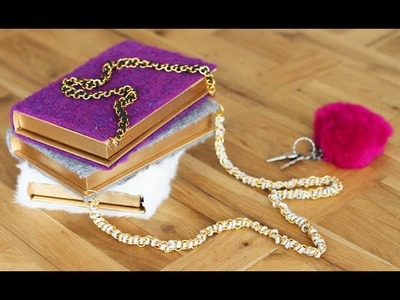 How To Make a Book Clutch - HGTV Handmade