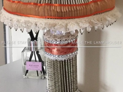 How To Make A Book Fold Lamp