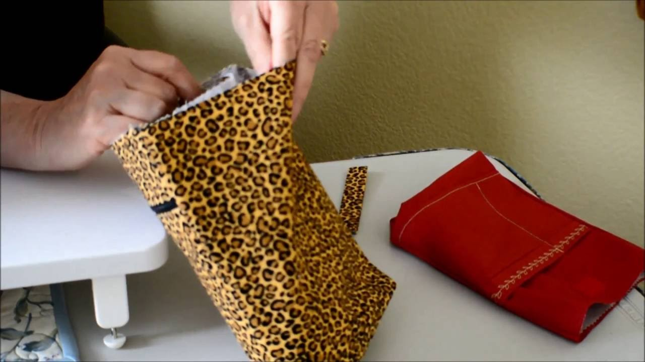 How to Make a Cross Body Bag Part 5