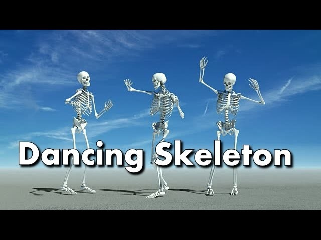 How to Make a Dancing Skeleton.  DIY   Try Its Too Easy.