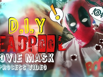How to Make A Deadpool Mask - Process Video
