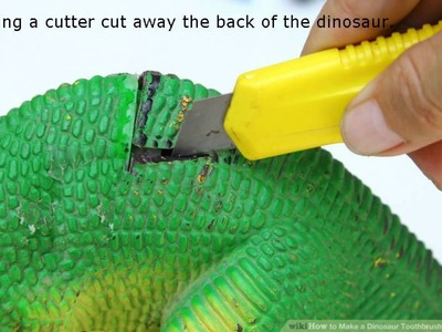 ►How to Make a Dinosaur Toothbrush Holder