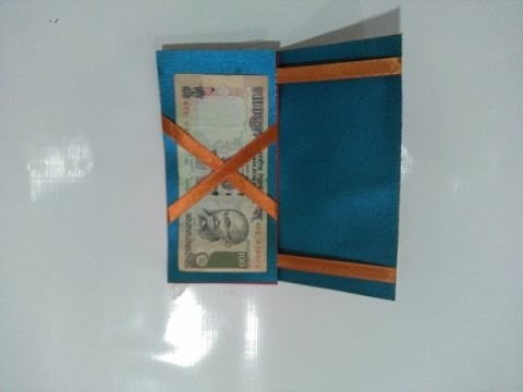 How to make a magic paper wallet